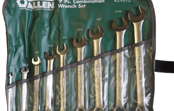 Allen 9 Pc Wrench Set