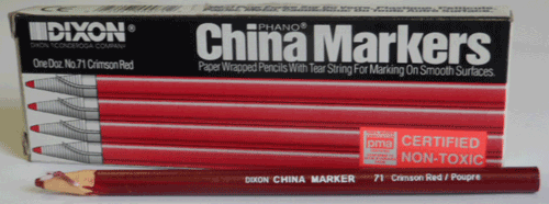 China Markers (red)