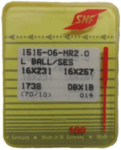 SNF L Ball/SES 16×257-10 DBx1B Needle